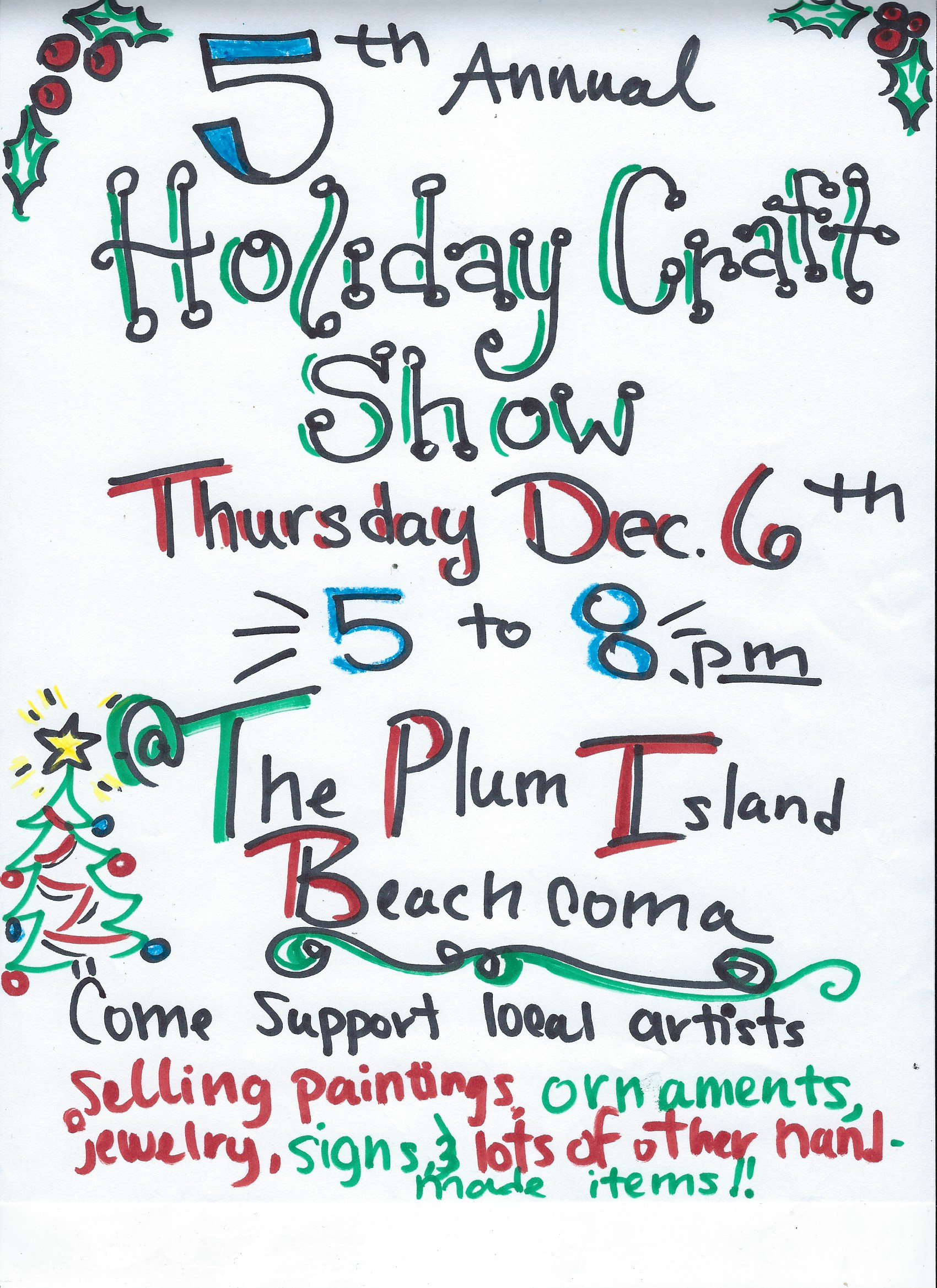 December Th Holiday Craft Show